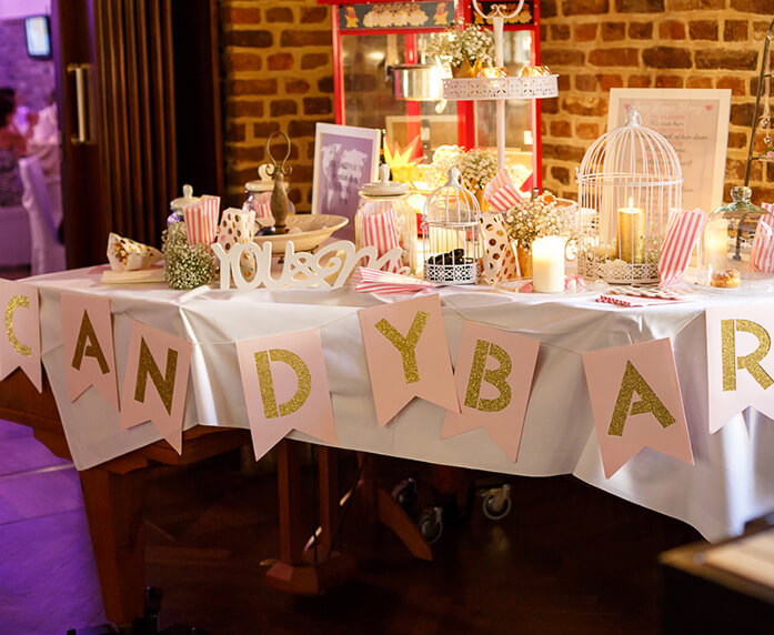 Candybar in der Location