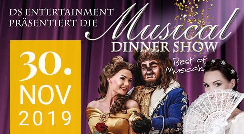 Musical Dinnershow in Rheinberg